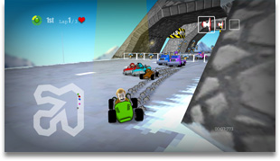 Dirchie Kart Game Screen Shot 3