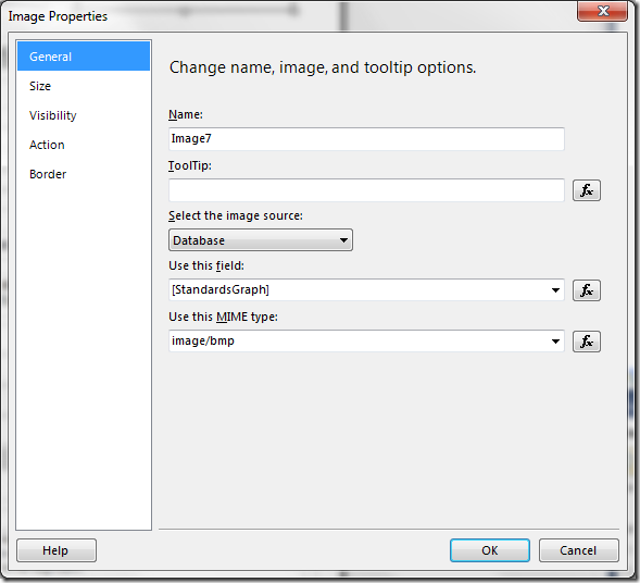 WPF control on reporting services report image properties