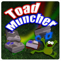 Toad Muncher, Free game about squashing toads